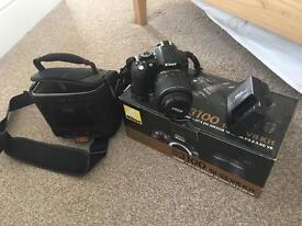 Nikon D3100 Camera and Bag - Digital SLR