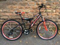 BOSS Venom Full Suspension Adults Mountain Bike RRP £265