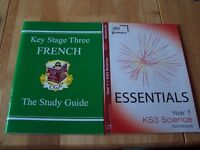 5 KEY STAGE THREE BOOKS, IN EXCELLENT CONDITION