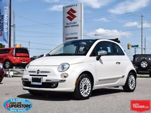 2015 Fiat 500C Lounge Cabrio ~Heated Leather ~Bluetooth