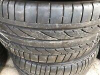 Overstock Of Part Worn Used Tyres, Continental, Bridgestone Runflat BMW etc.. 225/45/17,40/18,205/50