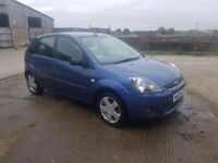 Ford Fiesta 2006 Zetec Climate 1.4 67000 MILES! SORN, no MOT, Paintwork damage. READ DESCRIPTION