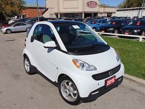 2015 smart fortwo NAVIGATION SUNROOF ONLY 38KM!!!