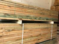 4x2 treated timber C24 BEST UK PRICES Direct Manufacturer -1 linear m