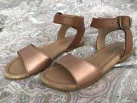 Size 13 Girls Leather M&S Sandals