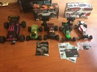 2x Hpi Savage xs flux, 2x Durango Dex210, Ansmann Brushless rc car's selling up