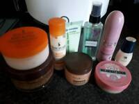 Brand new body products £6 for all