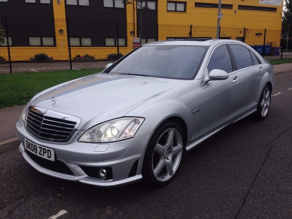 Mercedes benz s class 6 2 s63 amg limousine 2008 full mercedes history low mileage just