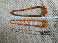 Three necklaces from Monsoon.