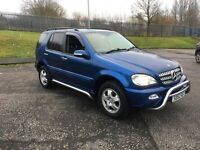 mercedes ml 2.7 great spec 1 owner car full service history