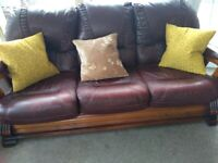 Super Leather Sofa For Sale In Chorley Lancashire Sofas Interior Design Ideas Gentotryabchikinfo