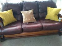Superb Leather Sofa For Sale In Chorley Lancashire Sofas Home Interior And Landscaping Mentranervesignezvosmurscom