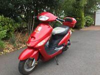 50cc scooter 12 Months MOT
