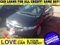 2010 Honda Civic LX * EVERY CREDIT CAN GET APPROVED