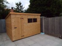 **19FT x 7FT PENT STORAGE GARDEN SHED*** FREE INSTALLATION AND FREE DELIVERY WITH 30 MILES