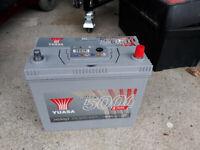 12V Car Battery - *Sold as Seen* Yuasa HSB053 / S46B24L(S) / YBX5053 *See desc.*