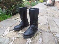 Spada Motorbike boots, bike boots, motorcycle boots. Size 9 43