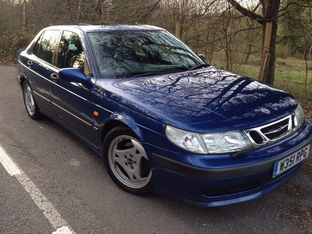 2000 Saab 9-5 2.3 Turbo Hot Aero Manual Blue 93k miles FULL History.
