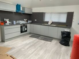 TWO DOUBLE BEDROOM BRAND NEW FLAT FIRST FLOOR IN STANMOR NEAR TO STATION