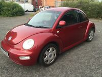 VOLKSWAGEN BEETLE 2.0 FULL SERVICE HISTORY 2 FORMER KEEPERS