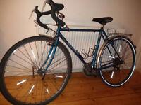 "Blue, Al, Raleigh Randonneur Touring Bicycle. Frame (52cm/20.5""). Older but good."