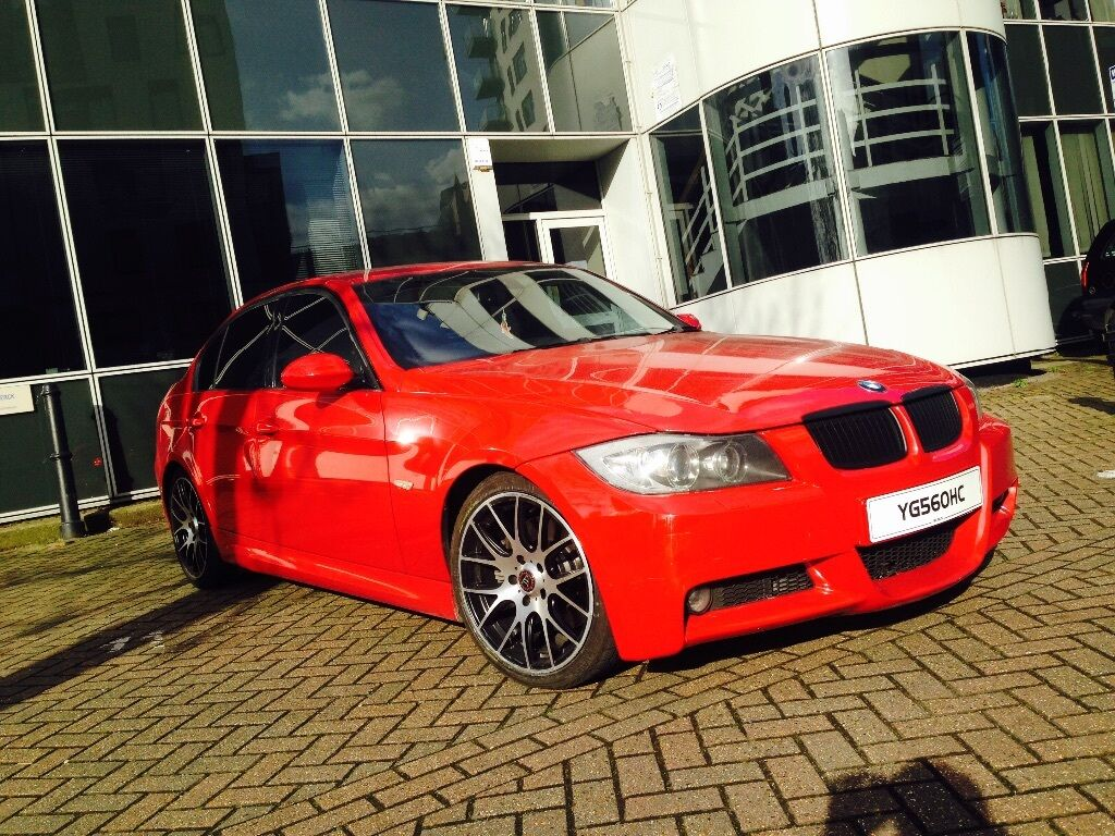 bmw 330d m sport fully loaded sat nav imola red lci. Black Bedroom Furniture Sets. Home Design Ideas