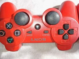 PS3 500GB SLIM Console Red