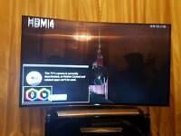Damaged Samsung 8 series 55' curved LED 3D TV