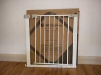 Safety 1st easy close metal safety gate nearly new for sale