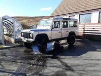 2000 land rover defender 110 td5 station wagon county