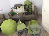 Stokke Xplory Lime Green model made in Holland