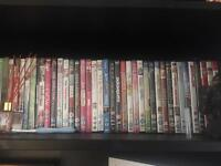 DVDs and cds