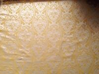 3.7 metres Designer Remnant Fabric for Curtains/ upholstery/ upcycling/ sewing/ crafts