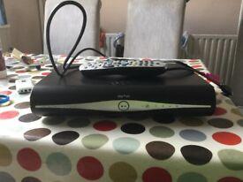 Sky +hd box & remote plus cables