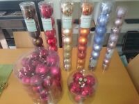 Christmas decorations/baubles (new)