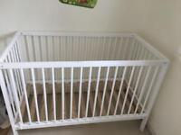 Space saver cot bed