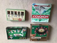 A decent collection of board games