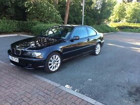 BMW 3 Series Coupe 2.0 Auto Black (12 months AA parts and labour warranty included)