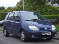 Renault Scenic 1.6 16v Fidji 5dr£249 p/x to clear MOTED,READY TO DRIVE,BARGAIN
