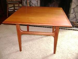 Danish modern teak end table