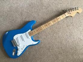 Strat style, S- type, guitar. NOT FENDER.