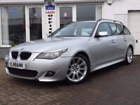 2009 09 BMW 520 2.0TD auto d M Sport Touring~FULL BMW SERVICE HISTORY~