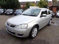 Vauxhall Corsa 1.2 i 16v Active 3dr, 2006 (56 reg) silver, FULL SERVICE HISTORY, HPI CLEAR, BARGAIN