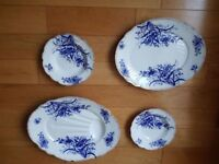 Antique serving dishes