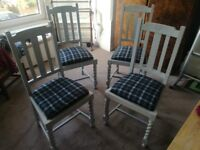 Set of 4 dining chairs for sale