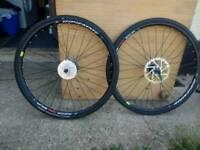 700c disc wheels