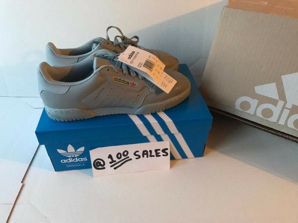 be3bef918cb0f ADIDAS x Kanye West Yeezy POWERPHASE CALABASAS Grey UK5.5 CG6422 ADIDAS  RECEIPT 100sales