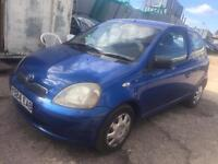 Toyota Yaris moted 295 no offers