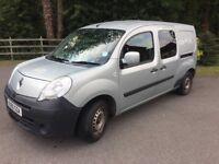 Renault Kangoo Maxi Crew Van 5 seater