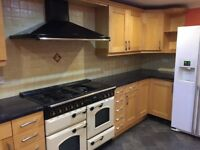 Maple kitchen cupboards for sale